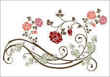 Bloemen element stock illustratie