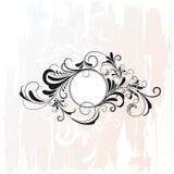 Bloemen element royalty-vrije illustratie