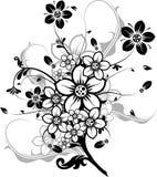 Bloemen elementen voor ontwerp,   royalty-vrije illustratie