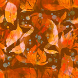Bloemen en bladerenthee Stock Afbeelding