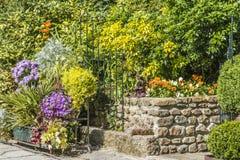 Bloemen en décoration stock fotografie