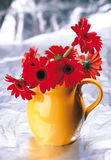 Bloemen en giften Royalty-vrije Stock Foto's