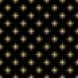 Bloemen Fijn Naadloos Vectorpatroon Royalty-vrije Stock Fotografie