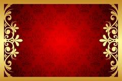 Bloemen frame Royalty-vrije Stock Foto's