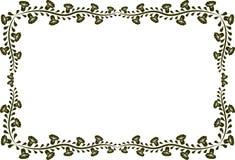Bloemen frame Royalty-vrije Stock Fotografie
