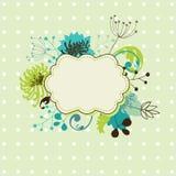 Bloemen frame Stock Afbeeldingen