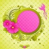 Bloemen frame. vector illustratie