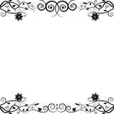 Bloemen frame Royalty-vrije Illustratie