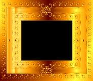 Bloemen frame Royalty-vrije Stock Foto