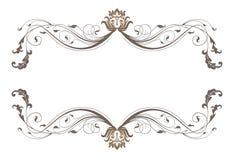 Bloemen frame. Royalty-vrije Stock Afbeeldingen