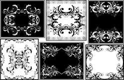 Bloemen frames Stock Fotografie