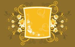 Bloemen frames Stock Foto