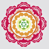 Bloemen mandalas Stock Foto