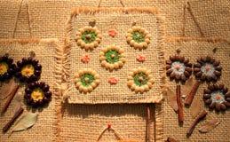 Bloemen gemaakt tot †‹â€ ‹van zaden stock afbeeldingen
