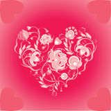 Bloemen gesign Royalty-vrije Stock Afbeeldingen