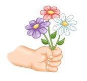 Bloemen gift Stock Afbeeldingen