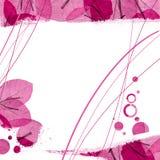 Bloemen grens Stock Afbeelding