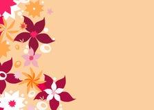 Bloemen grens Royalty-vrije Stock Afbeelding