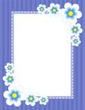 Bloemen Grens - de lente en de zomer Royalty-vrije Stock Afbeeldingen