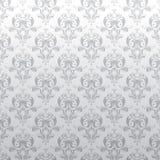 Bloemen grijs patroon als achtergrond Royalty-vrije Stock Foto