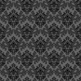 Bloemen grijze textuur Vector Illustratie