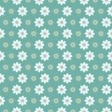 Bloemen groen patroon Stock Foto's