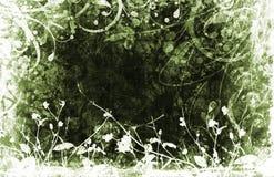 Bloemen grunge Stock Afbeelding