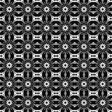 Bloemen herhaal naadloos patroon Stock Afbeelding