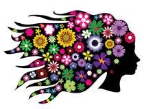 Bloemen hoofd Stock Fotografie