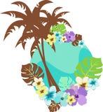 Bloemen illustratie Stock Fotografie