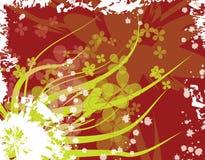 Bloemen illustratie royalty-vrije stock afbeelding