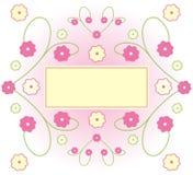 Bloemen Illustratie royalty-vrije illustratie