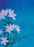 Bloemen Illustratie Als achtergrond royalty-vrije illustratie