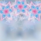 Bloemen kaart als achtergrond, groet of uitnodigings Royalty-vrije Stock Afbeelding