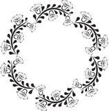 Bloemen kader Royalty-vrije Stock Foto