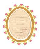 Bloemen kader vector illustratie