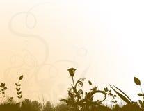 Bloemen Kantoorbehoeften stock illustratie