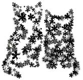 Bloemen katjes Stock Illustratie