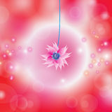 Bloemen kleurrijke achtergrond stock illustratie