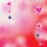 Bloemen kleurrijke achtergrond vector illustratie