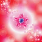 Bloemen kleurrijke achtergrond royalty-vrije illustratie