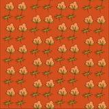 Bloemen levendige vectorillustratie als achtergrond Stock Foto