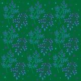 Bloemen levendige vectorillustratie als achtergrond Royalty-vrije Stock Foto