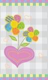 Bloemen in liefde Stock Fotografie