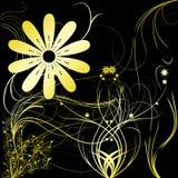 Bloemen met gradiënt Stock Fotografie
