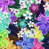 Bloemen miks vector illustratie