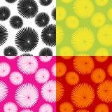 Bloemen motiefpatroon Royalty-vrije Stock Afbeeldingen