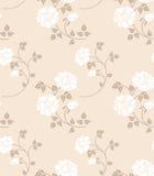Bloemen naadloos royalty-vrije illustratie