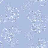 Bloemen naadloos Royalty-vrije Stock Foto's
