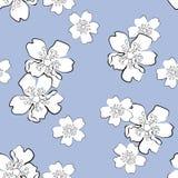 Bloemen naadloos Stock Fotografie